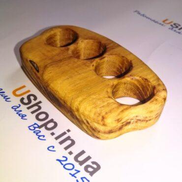Настоящий кастет из древесины