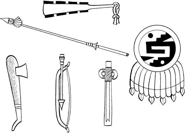 Оружие воинов ацтеков