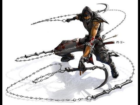 Виды оружия ниндзя