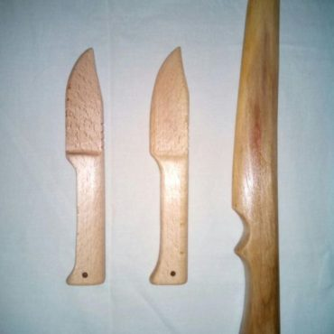 Тренировочный нож из дерева