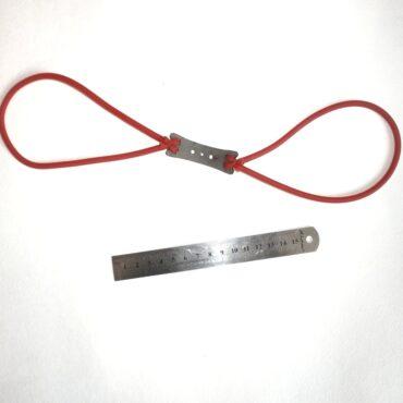 Сменные двойные тяги с ложем для рогатки