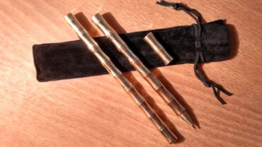Тактическая ручка самообороны бамбук