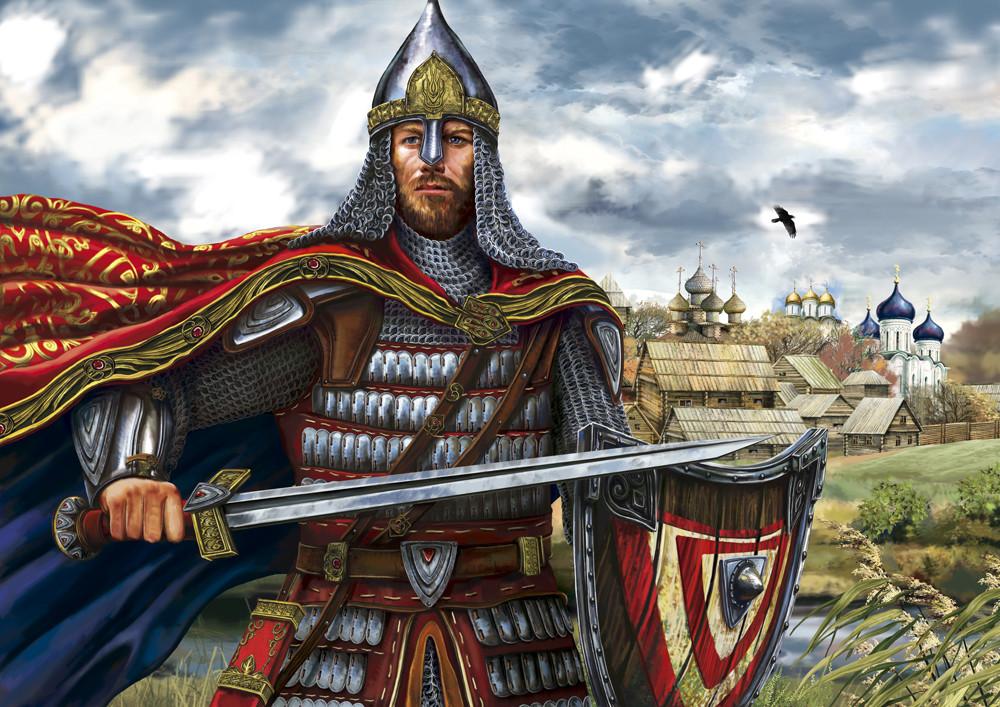 Оружие на руси древких воинов