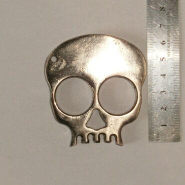 Кастет череп на 2 пальца из металла в Украине
