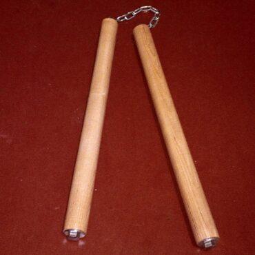 Тяжелые нунчаки с ударным наконечником