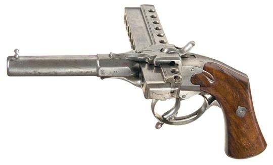 необычные пистолет 19 век