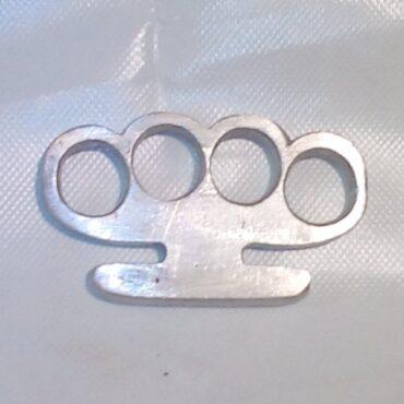 кастет из алюминия своими руками