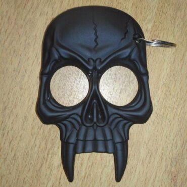 Череп кастет из пластика на 2 пальца skull