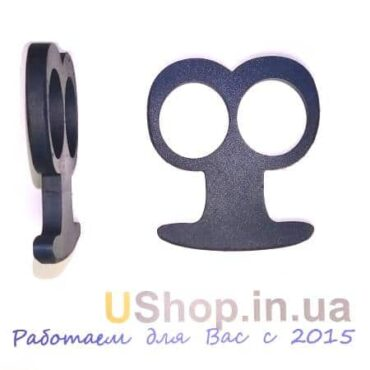 Кастет 2 пальца: закаленная сталь