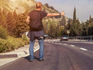 Правила безопасности при путешествии автостопом
