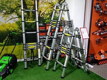 Телескопические стремянки и приставные лестницы