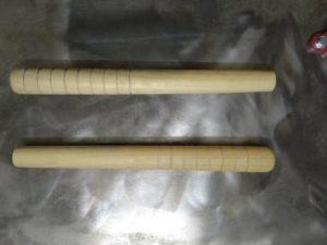 Заготовки рукояток нунчак из акации