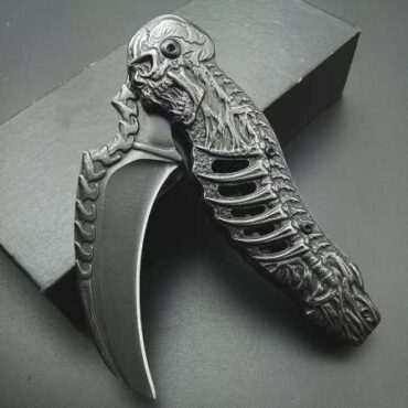 "Складной нож керамбит ""Скелет"" Aliexpress"