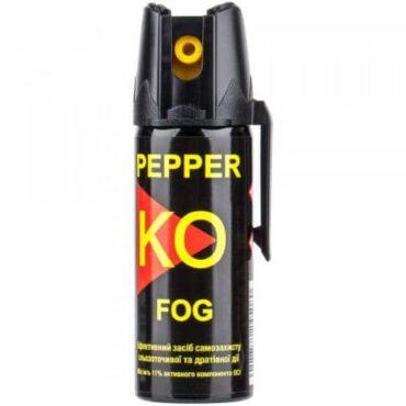 Газовый баллончик ballistol klever pepper ko fog 50 мл